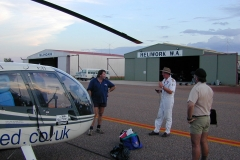Australia Kununurra Airport Heliwork
