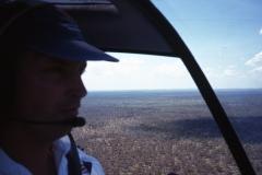Australia Outback Tea Trees R44 aerial view