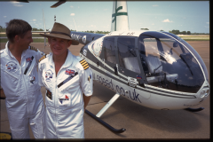 AUSTRALIA TIM GILBERT MARTIN RUTTY R44