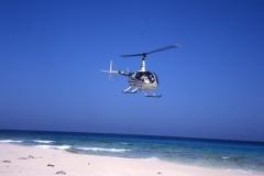 Egypt beach R44 landing