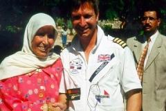 Jordan aqaba Tim Gilbert with local lady
